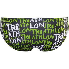Turbo Triathlon - Maillot de bain Homme - vert/noir